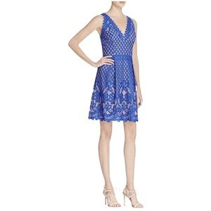 NWT Adriana Papell Vneck Dress